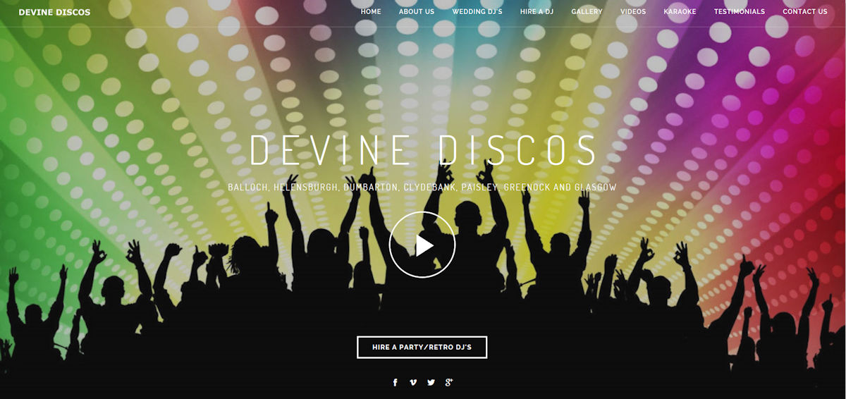 Devine Discos :: Mobile Disco in West Dunbartonshire