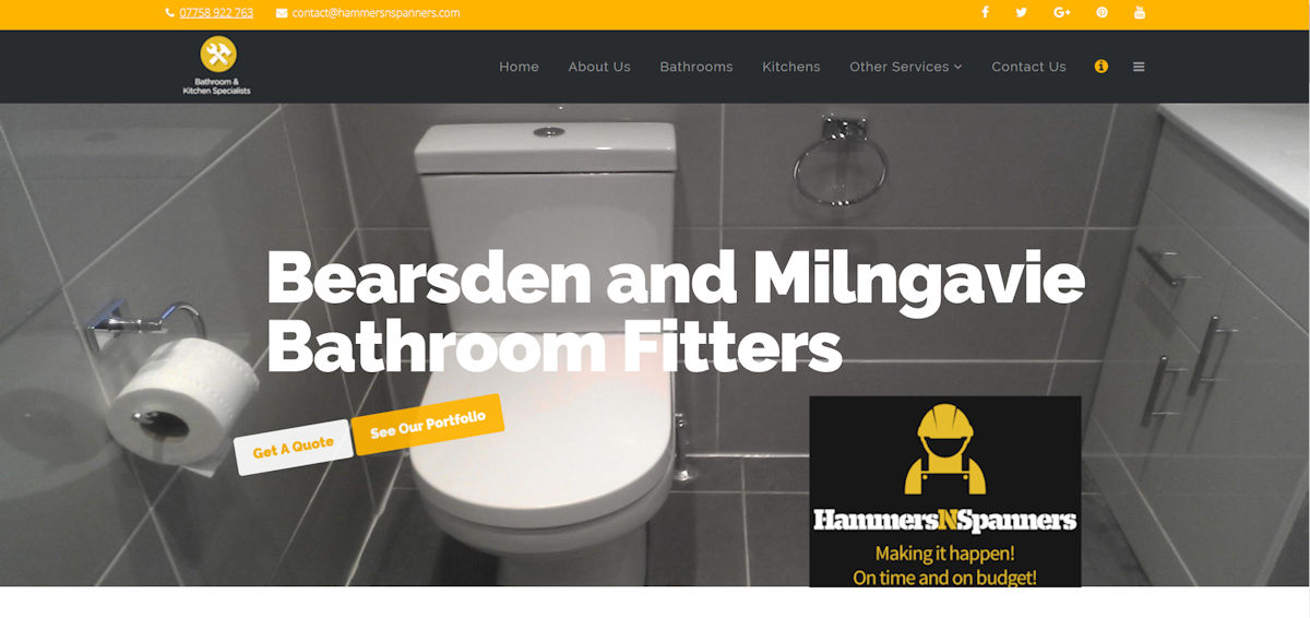 Hammers and Spanners :: Bathroom and Kitchen Fitters