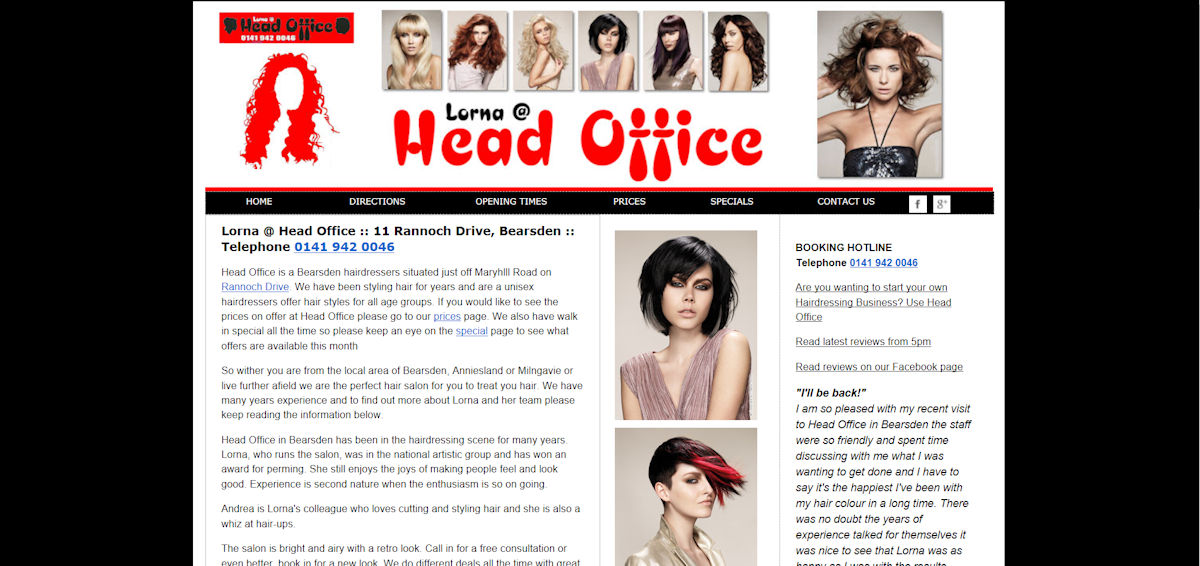 Head Office Hair in Bearsden