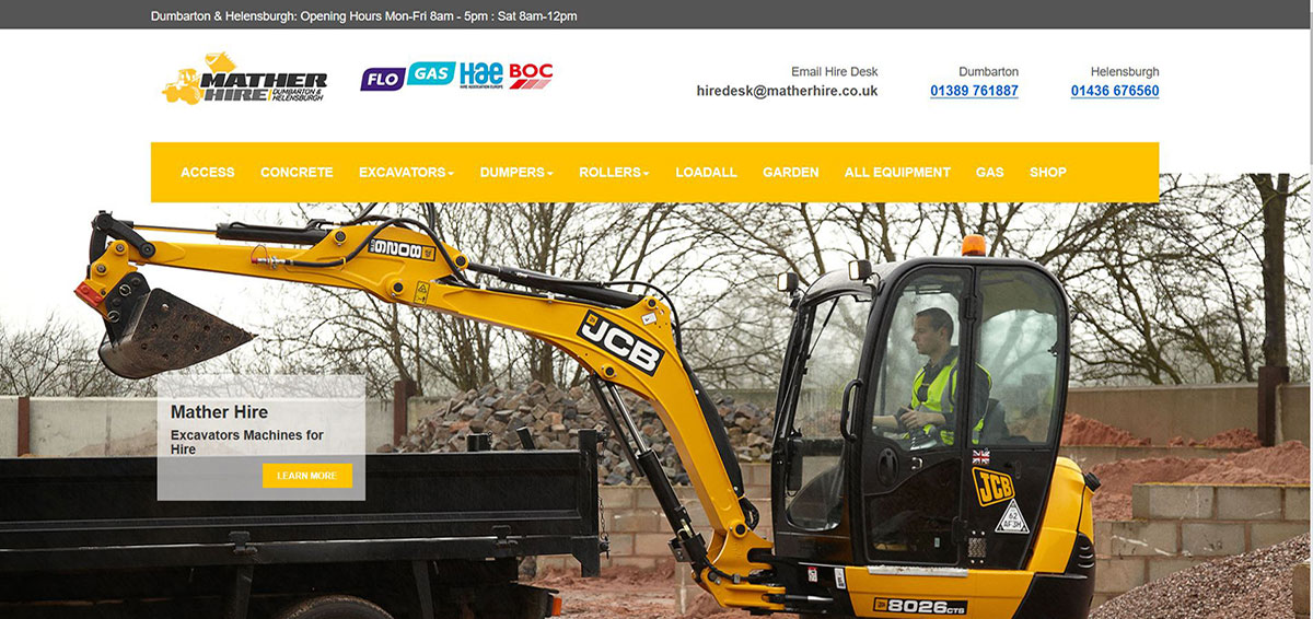 Mather Hire: Dumbarton and Helensburgh