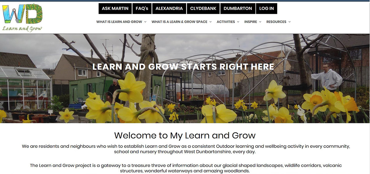 My Learn and Grow in West Dunbartonshire