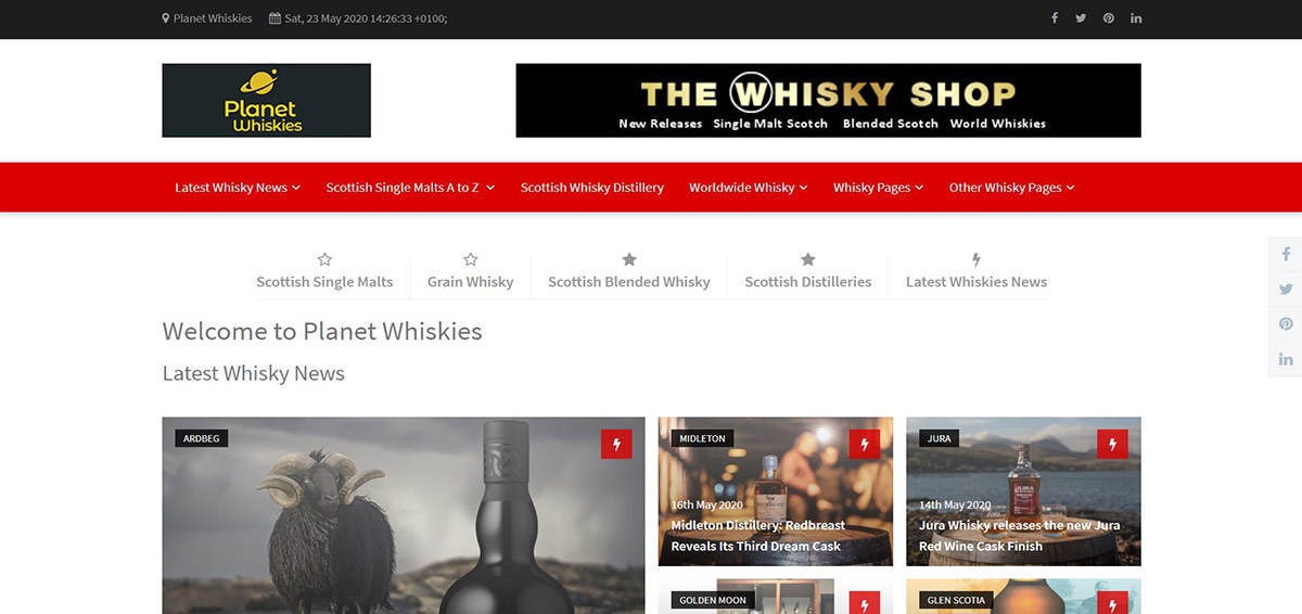 Planet Whiskies