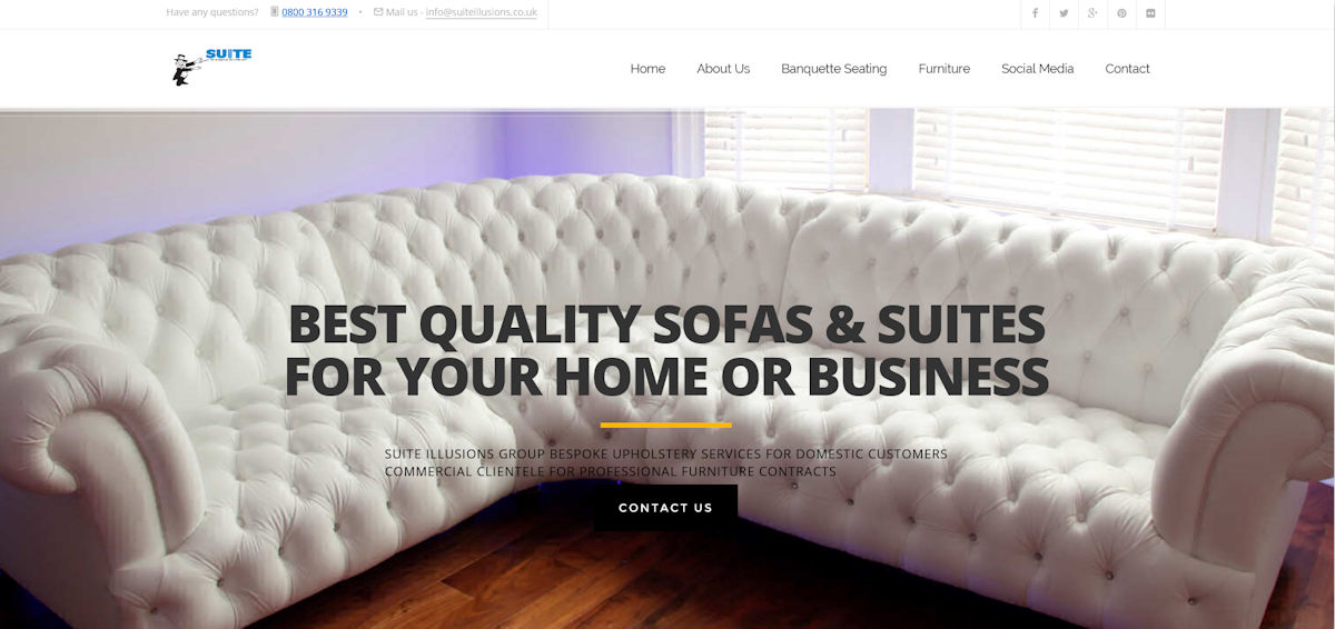 Suite Illusions :: Upholstery and Loose Covers Business in Rutherglen