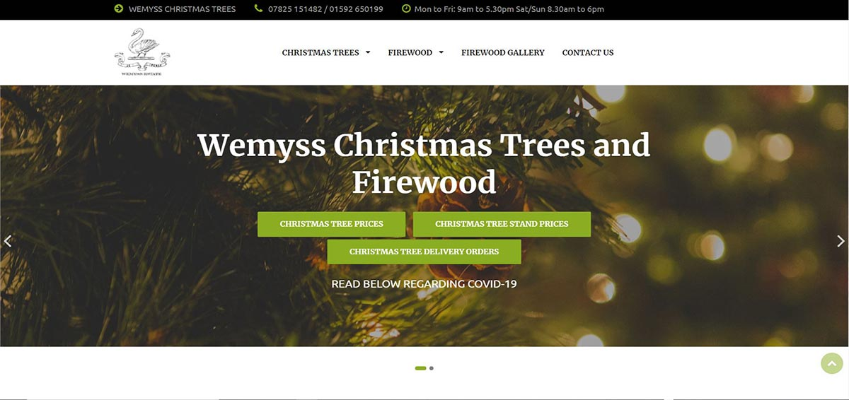 Wemyss Firewood and Christmas Trees